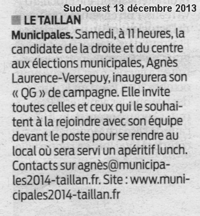 Sud-Ouest 13-12-2013